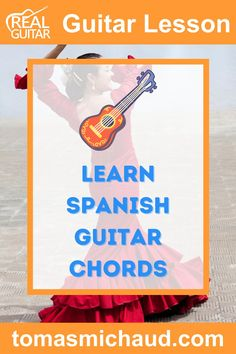 In this guitar lesson, you are going to learn a Spanish style chord progression. This chord progression is so common in Flamenco music that it has its own name, The Andalusian Cadence. The Spanish guitar chord progression can be played in any key, but I'll teach you in the key of Dm. The main chord progression only 4 chords, but it's the order of the chords that give this progression a beautiful sound. I will also show you a fingerpicking pattern and Flamenco strum pattern. Flamenco Guitar Lessons, Acoustic Guitar Lessons, Guitar Chords, How Its Going, Going To Work, Guitar Chord Progressions, Guitar Online, Guitar Lessons For Beginners, Guitar Tutorial