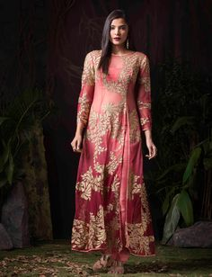Pink Net Kameez With Pant 59901