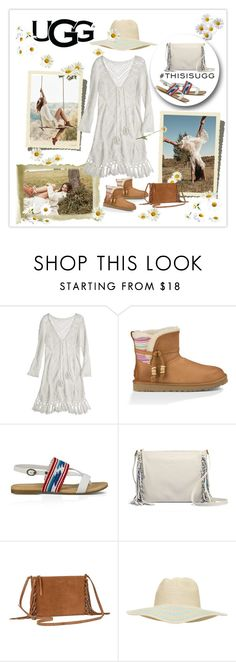 """""""Play With Prints In UGG: Contest Entry"""" by sherry7411 on Polyvore featuring UGG Australia, Calypso St. Barth, 2b bebe and thisisugg"""