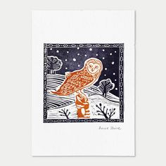 Image result for duck linocut