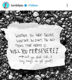 If your answer is yes, go get it! If your answer is no, stop wasting your time talking about it. #perserverence #dontquit #justdoit #dontstop #consistencymatters #selfleadership #youcreateitall