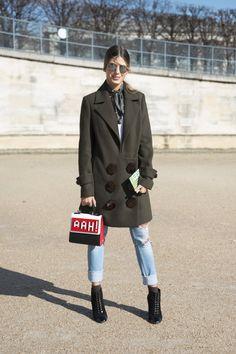Pin for Later: Retour Sur les Meilleurs Looks Street Style de la Fashion Week de Paris Jour 4