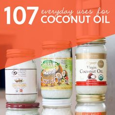Use Coconut Oil Health - 107 Everyday Uses for Coconut Oil. replace butter- even on toast and popcorn - 9 Reasons to Use Coconut Oil Daily Coconut Oil Will Set You Free — and Improve Your Health!Coconut Oil Fuels Your Metabolism! Health Remedies, Home Remedies, Natural Remedies, Health And Beauty, Health And Wellness, Health Care, Coconut Oil Uses, Coconut Oil Beauty, Natural Healing