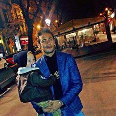 Neymar jr et son fils