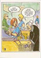 Postkarte - Wollen Sie ein Tüte?
