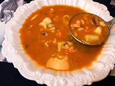 Cocinando con Lola García: Sopa de pescado