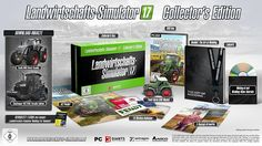 Farming Simulator 17 Collector's Edition ready for Pre-Order. Xbox Pc, Guide, Video Game Console, The Collector, Patches, Activities, Farming, Oct 2016, Amazon
