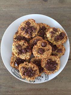 Cookies flocons d'avoine 1 sp par cookie