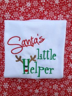 Up Island Life-  awesome Etsy listing at https://www.etsy.com/listing/210863129/santas-little-helper