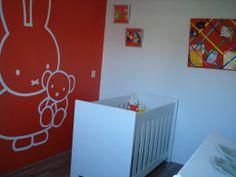 nijntje muurschildering, miffy   nijntje   pinterest, Deco ideeën