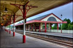 'Aviemore Railway Station'  Scotland
