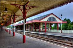 'Aviemore Railway Station'  Scotland