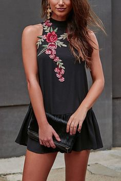 Look effortlessly chic in this gorgeous dress!# dress #black #maykool