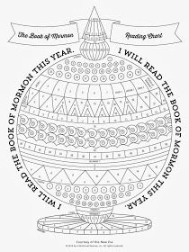 Didi @ Relief Society: The Book of Mormon Reading Chart, by New Era