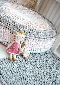 Casa de ideias e decoração: Artesanato: Crochê feito com fio de malha