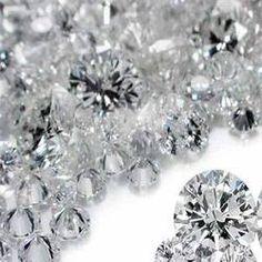 Diamonds, diamonds...everywhere....