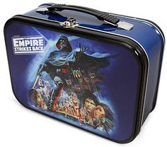 ThinkGeek :: Star Wars Empire Strikes Back Lunchbox High School Lunches, School Lunch Box, I School, Star Wars Lunch Box, Lunch Box Thermos, Boxer Rebellion, Vintage Lunch Boxes, Whats For Lunch, New Gadgets