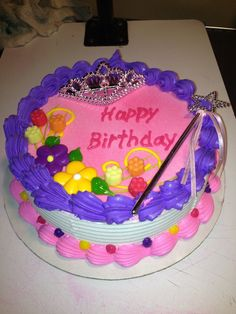 A Princess Party Is Not Complete Without This Majestic DAIRY QUEEN Cake Your Daughter And