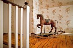 I love my antique rocking horse.