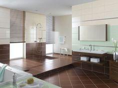    Facelift  Kitchen Interior Bathroom Living Room Awesome Brown Diamond Shape Ceramic Tile For Bathroom 30 Cool Inspiring Ceramic Floor Tile Design Ideas