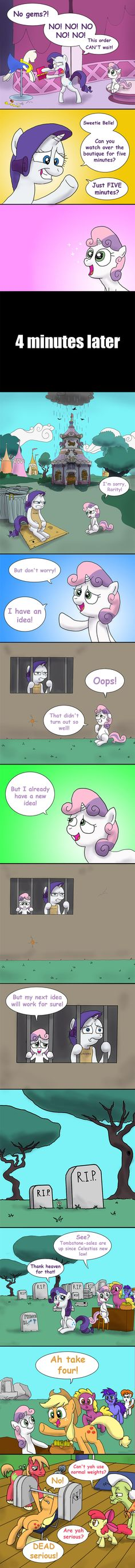 Seems like Rarity cannot understand Spike`s true feelings. Or maybe she understands them too well? Copyright of My little Pony: Friendship is Magic belongs to Hasbro and the Hub Network. My Little Pony Comic, My Little Pony Pictures, Mlp My Little Pony, My Little Pony Friendship, Mlp Comics, Funny Comics, Mlp Memes, Disney Memes, Sweetie Belle