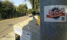 Stickers everywhere! #uptownbnb #stickermania