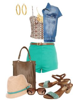 """""""Hot Pants"""" by milladeyn ❤ liked on Polyvore"""