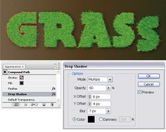 Quick Tip: How to Create a Vector Grass Text Effect - Tuts+ Design & Illustration Tutorial