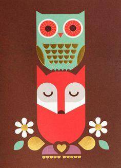 ~Mr. Fox and Olive the Owl -Kelly Hyatt~