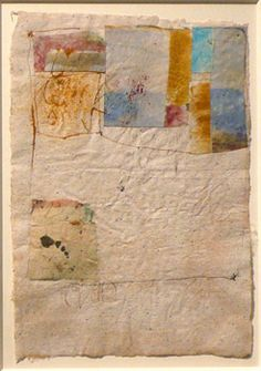 Hannelore Baron  Untitled (C-87011), 1987  Collage of paper with ink, 10 1/2 x 7 1/4 inches