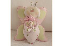 Molde Almofada de Borboleta (Butterfly Pillow Pattern)