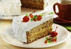 Sobremesas para o Natal: 45 receitas irresistíveis | CLAUDIA Bolo Tumblr, Marshmallow, Vanilla Cake, Recipies, Mango, Cheesecake, Food And Drink, Baking, Nesta Data