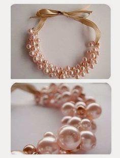 Cómo hacer un collar de perlas DIY :lodijoella