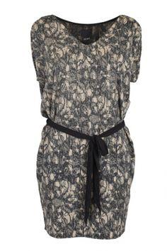 ICHI CRISSI Dress Black - Kjoler/nederdele - MaMilla
