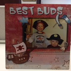 Creative Memories Metal Photo Panel featuring Rugged Make Believe Digital Addition (and The Adorable Schwamb Boys!)