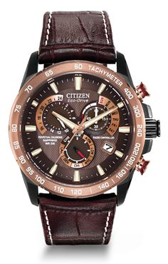 Citizen Citizen Eco-Drive Perpetual Chrono A-T AT4006-06X Atomic Timekeeping