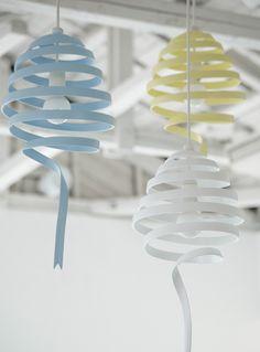 Ribbon lighting....I'll take a few of these - thank you! #monochro