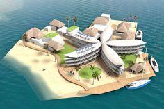 La próxima frontera inmobiliaria estaría en los mares