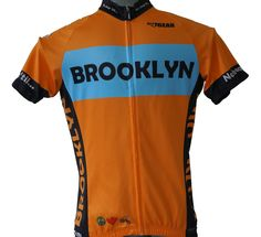 Brooklyn Cycling Jersey - A Peace, Love & Pedals cycling jersey classic for men and women!