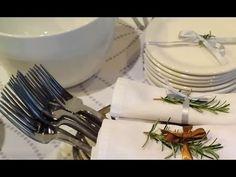Mesa posta à americana  - Serviço à americana Natal e Réveillon  - Mesa para servir buffet - YouTube