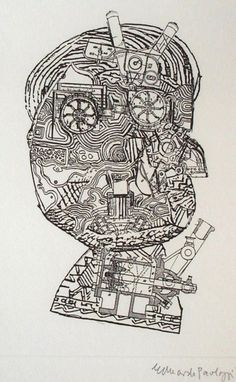 Mechanical Head by EDUARDO PAOLOZZI - The Association of Art and Antique Dealers - LAPADA