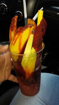 Raspa con mango & chile