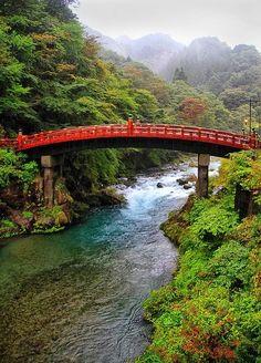Red Bridge, Nikko, Japan