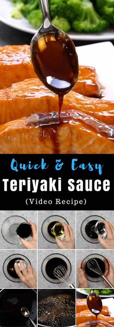 This homemade Teriyaki Sauce is so much better than store-bought bottled sauce orthe teriyaki sauce you get from your favorite takeout restaurant. It's sweet and sticky, perfect for stir frying, grilling and baking.
