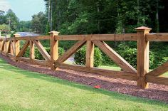 ranch style fencing | we offer various styles and types of fencing depending on your ...