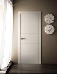 Arvika Polar White Interior Door by Belldinni at DoorDesignLab Interior Design Colleges, Door Design Interior, Mid-century Interior, Modern Interior, Replacing Interior Doors, White Interior Doors, White Doors, Flush Doors, Indoor Doors