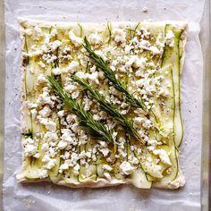 Zucchini Tart With Fresh Herbs & Herbs De Provence