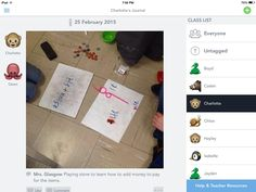 We started to use See Saw app to document our learning in Grade 1.  @DACSRoom9
