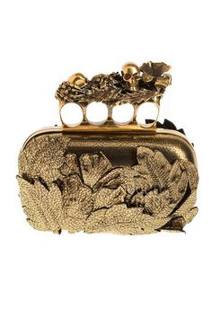 brass knuckle clutch - Cris Figueired♥