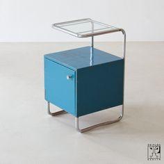 Bauhaus bedside cabinet
